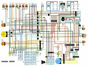 chopcult let s see some chopped wiring diagrams page 3 noid chopperwiringdiagram jpg honda cb550 electrical wiring diagram jpg