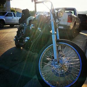 21inch wheel shadow