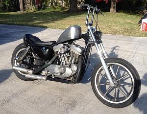 Name Brat Style Sportster Xl Harley Xs Cb Chopper