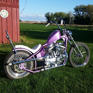 how to build a sportster chopper