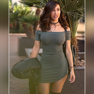 Click image for larger version.  Name:brunette hottie in tight outfit.jpg Views:12 Size:74.3 KB ID:99671