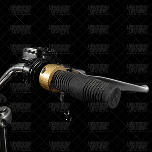 Click image for larger version.  Name:010308-lowbrow-customs-throttle_housing_harley_thread-in_single_cable_solid_brass_1_inch-2770.jpg Views:3 Size:270.3 KB ID:95635