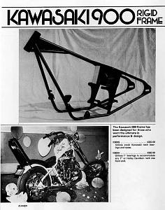 Click image for larger version.  Name:Amen Kawasaki 900 rigid frame, original ad from 1974 catalog.jpg Views:0 Size:126.7 KB ID:101920