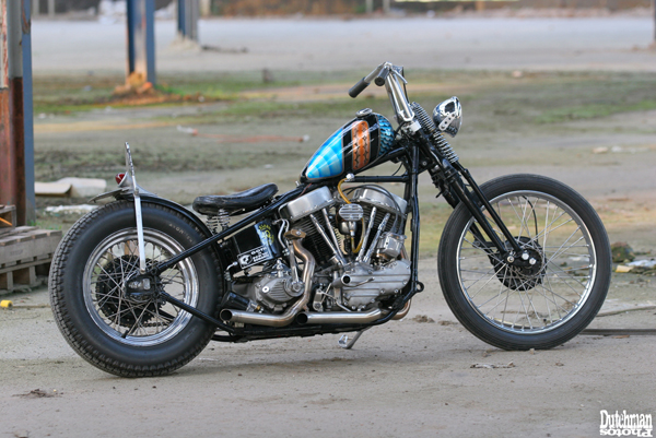 My garage built Panhead