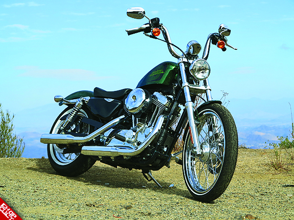 2012 Harley Davidson Sportster 72 Road Test Review 16