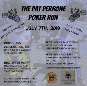 Chop Cult - The Pat Perrone Poker Run : A benefit to honor