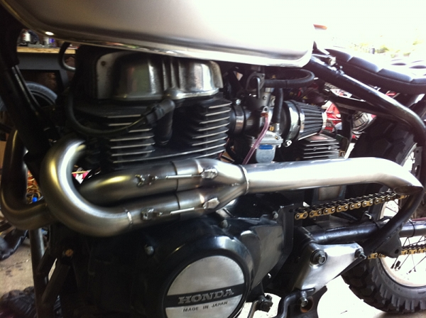 Inexpensive / Low Cost 2-1 exhaust for my Sportster ?