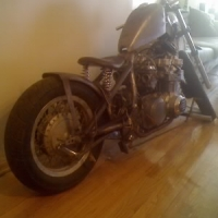 Chop Cult - This is my 1980 Kawasaki KZ650 bobber project