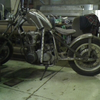 Chop Cult - This is my 1980 Kawasaki KZ650 bobber project