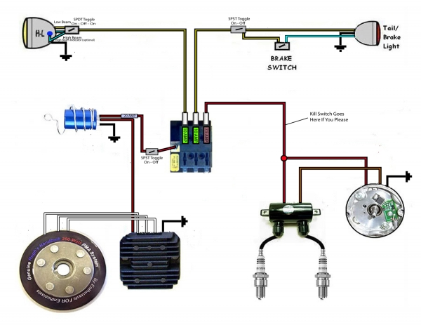Xs650 Wiring Diagram from www.chopcult.com
