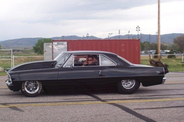 Chop Cult - This is a 1966 Chevy II tube chassis drag car
