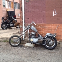 Chop Cult - building this xs650 from a stock frame with the